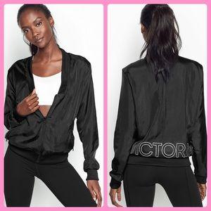 New Victorias Secret Satin Track Reversible Jacket